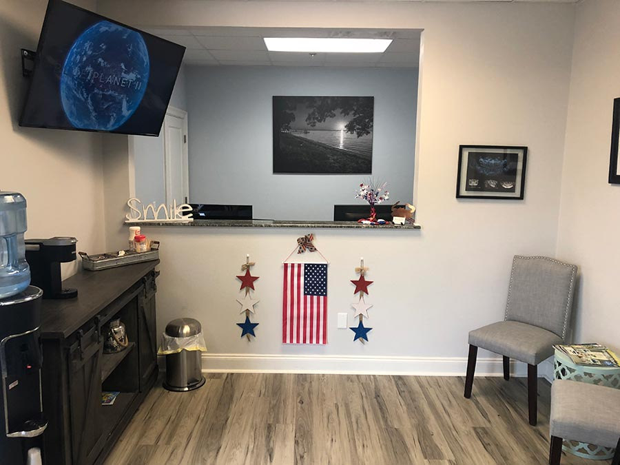 Waiting Area Bailey Orthodontics Foley Fairhope AL
